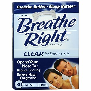 Free samples by mail of Breathe Right