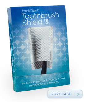 sample toothbrush shield