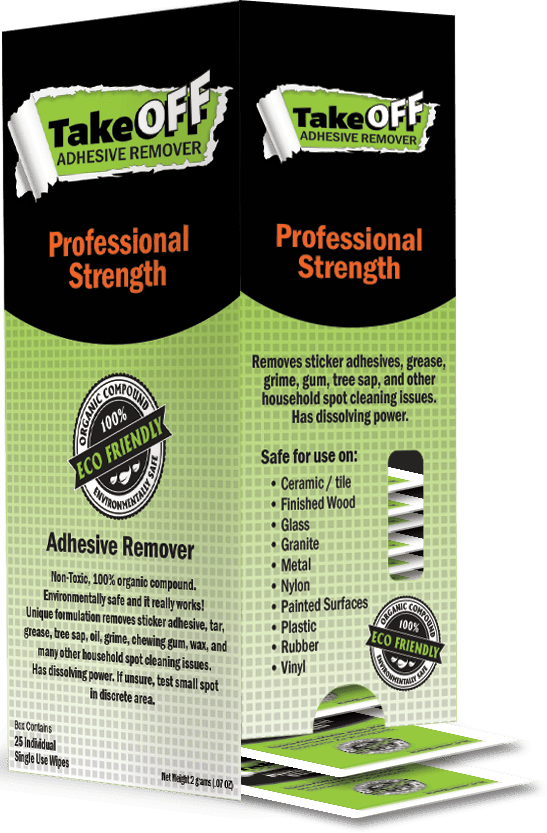 Take Off Adhesive Remover